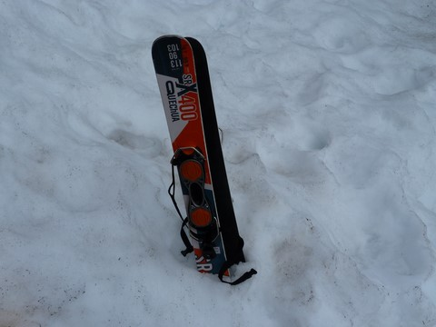 patinettes mini-skis